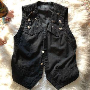 Vintage western vest
